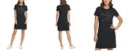 Calvin Klein Short-Sleeve Logo Shirtdress