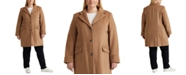 Lauren Ralph Lauren Plus-Size 3-Button Walker Coat, Created For Macy's