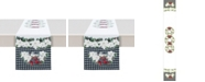 """Laural Home Christmas Trimmings Table Runner - 90"""" x 13"""""""