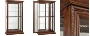 Furniture Daviston Dual Sliding Door Curio