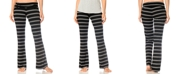 A Pea in the Pod Maternity Adjustable Ruched Striped Pajama Pants