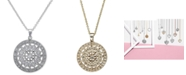 EFFY Collection EFFY® Diamond Disc Pendant Necklace (1/4 ct. t.w.) in 14k White, Rose, or Yellow Gold