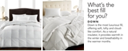 Hotel Collection CLOSEOUT! Finest Hungarian Goose Down Comforters, Hypoallergenic UltraClean Down, 600 Thread Count 100% Pima Cotton Cover, Created for Macy's