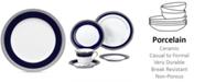 "Noritake ""Crestwood Cobalt Platinum"" Salad Plate"