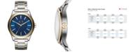 A|X Armani Exchange Men's Nico Two-Tone Stainless Steel Bracelet Watch 44mm