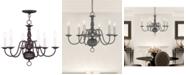 Livex Williamsburg 6-Light Chandelier