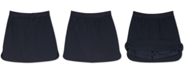 Nautica Big Girls Plus-Size Curved Hem Scooter Skirt