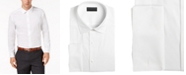 Alfani AlfaTech by Men's Solid Athletic Fit French Cuff Dress Shirt, Created For Macy's
