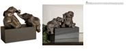 Uttermost 3-Pc. Playful Pachyderms Bronze Figurine