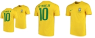 adidas Nike Neymar Brazil National Team Home Stadium Jersey, Big Boys (8-20)