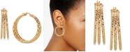 Macy's Triple Hoop Earrings in 14k Gold-Plated Sterling Silver