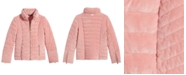 GUESS Big Girls Teoma Quilted Velvet Jacket