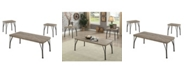 Furniture of America Kelle 3-Piece Table Set