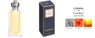 Cartier Men's L'Envol de Cartier Eau de Toilette Refillable Spray, 3.3-oz.