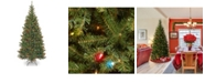 National Tree Company National Tree 7' Spruce With Multi-Color Lights