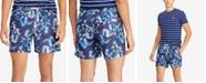 Polo Ralph Lauren Men's Big & Tall Traveler Floral-Print Swim Trunks
