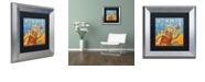 "Trademark Global Craig Snodgrass 'Smash!' Matted Framed Art, 11"" x 11"""