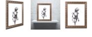 "Trademark Global Craig Snodgrass 'Disconnect' Ornate Framed Art, 11"" x 14"""