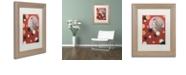 """Trademark Global Craig Snodgrass 'Astro-Anna II' Matted Framed Art, 11"""" x 14"""""""