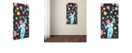"Trademark Global Craig Snodgrass 'Cora-Cosmos' Canvas Art, 12"" x 24"""