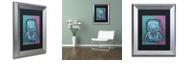 """Trademark Global Craig Snodgrass 'Weebot-Heart' Matted Framed Art, 11"""" x 14"""""""