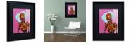 """Trademark Global Craig Snodgrass 'Segmented Man I' Matted Framed Art, 16"""" x 20"""""""