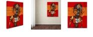 "Trademark Global Craig Snodgrass 'Segmented Man III' Canvas Art, 18"" x 24"""
