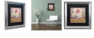 "Trademark Global Rachel Paxton 'Chilmark Butterfly' Matted Framed Art, 16"" x 16"""