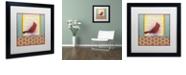 """Trademark Global Rachel Paxton 'Small Bird 227' Matted Framed Art, 16"""" x 16"""""""
