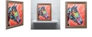 "Trademark Global Dean Russo 'WC Horse 3' Ornate Framed Art, 16"" x 20"""