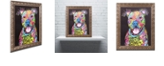 "Trademark Global Dean Russo 'I Fear' Ornate Framed Art, 16"" x 20"""