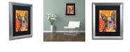 "Trademark Global Dean Russo 'Boston Luv' Matted Framed Art, 16"" x 20"""