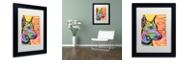 "Trademark Global Dean Russo 'Doberman Luv' Matted Framed Art, 11"" x 14"""