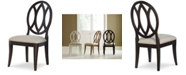 Furniture Rachael Ray Everyday Dining Oval Back Side Chair