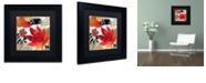"Trademark Global Color Bakery 'Equinox I' Matted Framed Art, 11"" x 11"""