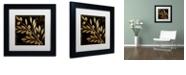 "Trademark Global Color Bakery 'Bellissima I' Matted Framed Art, 11"" x 11"""
