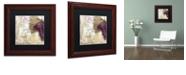 """Trademark Global Color Bakery 'Grand Vin Merlot' Matted Framed Art, 11"""" x 11"""""""
