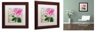 "Trademark Global Color Bakery 'Sonata Ii' Matted Framed Art, 11"" x 11"""