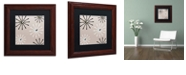 """Trademark Global Color Bakery 'Fifties Patterns Iv' Matted Framed Art, 11"""" x 11"""""""