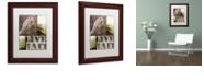 "Trademark Global Color Bakery 'Hunting Season Ii' Matted Framed Art, 11"" x 14"""