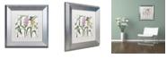 "Trademark Global Color Bakery 'Softly Ii' Matted Framed Art, 11"" x 11"""