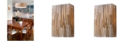 ELK Lighting Modern Organics-2-Light Sconce in Bamboo Stem Material in Polished Chrome
