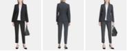 Calvin Klein One-Button Blazer & Straight-Leg Pants