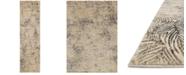 "Loloi Dreamscape DM-04 Charcoal/Beige 2'3"" x 8' Runner Area Rug"