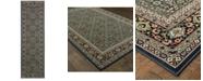 """Oriental Weavers Kashan 180L Navy/Multi 2'3"""" x 7'6"""" Runner Area Rug"""