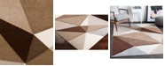 "Surya Santa Monica SAC-2314 Dark Brown 18"" Square Swatch"