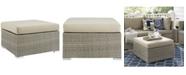 Modway Repose Sunbrella® Fabric Outdoor Patio Ottoman