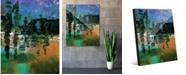 "Creative Gallery Lin Lin Beta Abstract 24"" x 36"" Acrylic Wall Art Print"