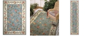 Kas CLOSEOUT! Colonial Floral 2' x 8' Runner Area Rug