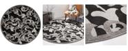 Safavieh Amherst Anthracite and Light Gray 7' x 7' Round Area Rug